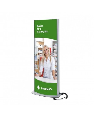 ARCUATO® LED Poster Zuil 700x2000 mm