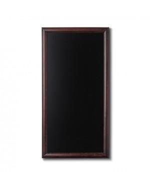 Krijtbord Donkerbruin 56x100 cm
