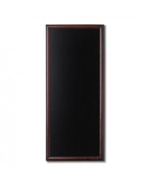 Krijtbord Donkerbruin 56x120 cm