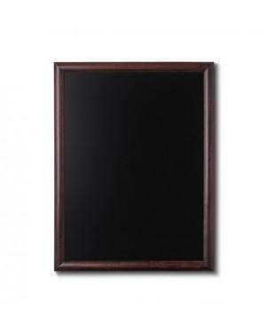 Krijtbord Donkerbruin 60x80 cm