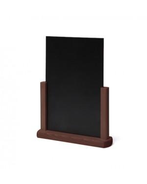 Krijtbord Tafel Donkerbruin A4