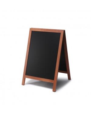 Krijtstoepbord Hout Lichtbruin 55x85 cm