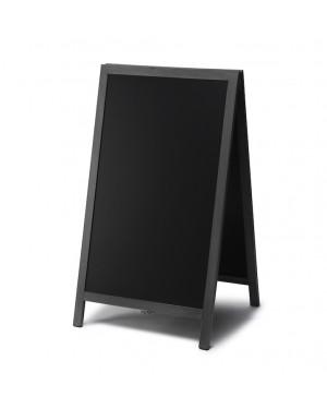 Krijtstoepbord Hout Zwart 68x120 cm