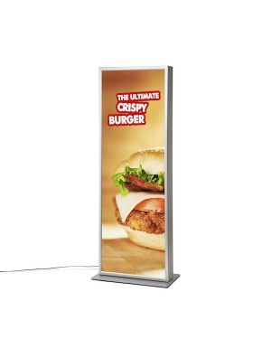 LED Poster Zuil 2xA1
