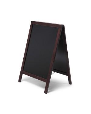 Krijtstoepbord Economy Bruin 55x85 cm