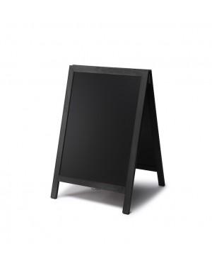 Krijtstoepbord Hout Zwart 55x85 cm