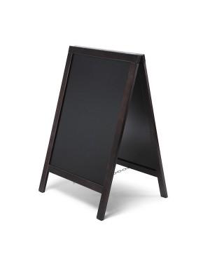 Krijtstoepbord Economy zwart 55x85 cm